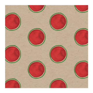 Christmas Dots Self-Launch Wrapping Paper