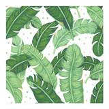 Tropical Banana Leaves by Four Wet Feet Studio