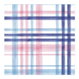 multi-colored watercolor plaid