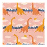 Brachiosaurus March by Charla Pettingill
