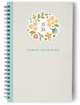 Cerulean Blooms Notebooks