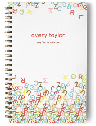 ABC Day Planner, Notebook, or Address Book