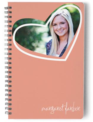 Pop Heart Day Planner, Notebook, or Address Book
