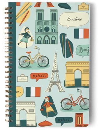 A Little Paris Day Planner, Notebook, or Address Book