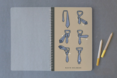 To Tie A Tie Notebooks