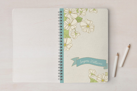 Suzette's Flowers Notebooks