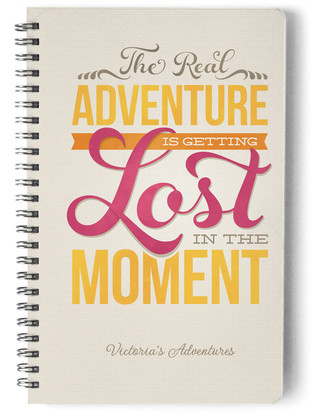 Real Adventure Day Planner, Notebook, or Address Book