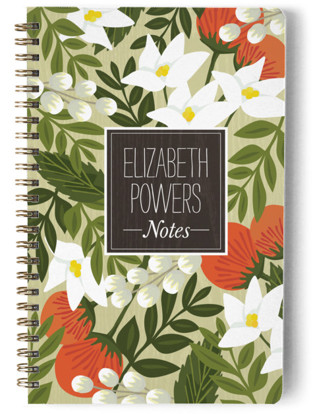 Blossoming Rainforest Day Planner, Notebook, or Address Book