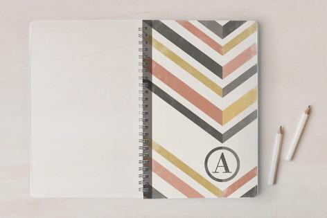 Mod Chevrons Notebooks