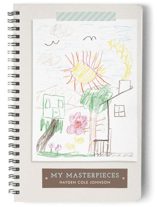 My Masterpieces Day Planner, Notebook, or Address Book