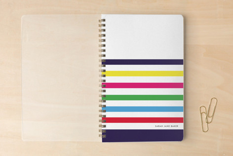 Candy Stripes Notebooks