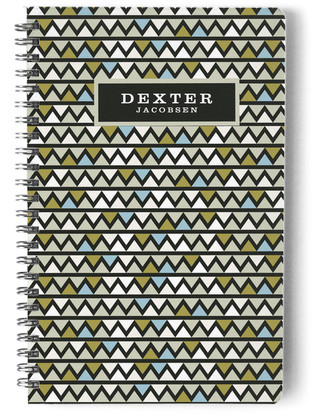 Triangle Moderne Day Planner, Notebook, or Address Book