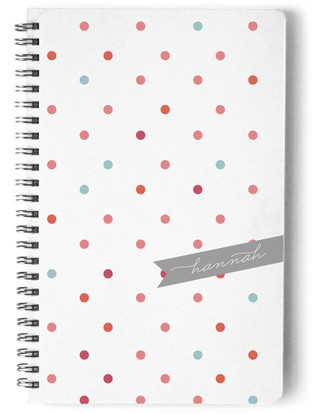 Polka Day Planner, Notebook, or Address Book