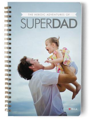 Super Dad Day Planner, Notebook, or Address Book
