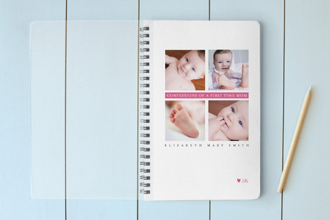 Confessions of a First Time Mom Notebooks