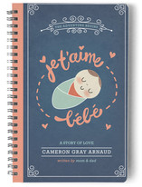 Je T'aime Bebe Notebooks