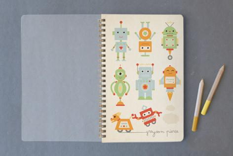 Robots! Notebooks