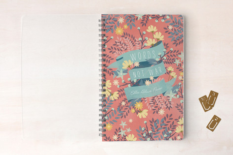 Words Not War Notebooks