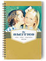 Industrial Nameplate Notebooks