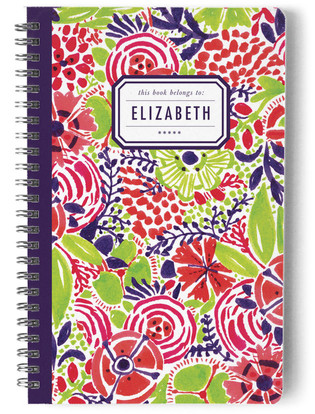 Le Jardin Day Planner, Notebook, or Address Book