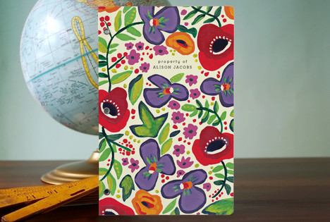 Violets and Poppies Notebooks