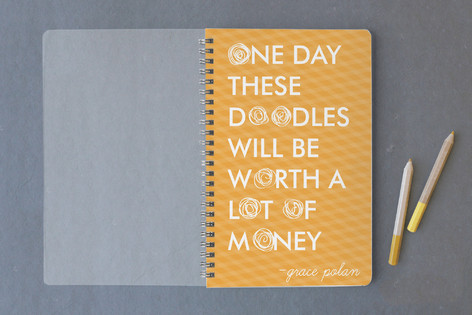 Famous Doodles Notebooks