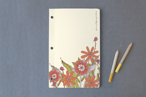 Fresh Flowers Notebooks