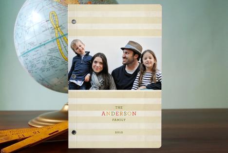 Seasonal Stripes Notebooks