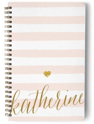 Glitter Heart Day Planner, Notebook, or Address Book