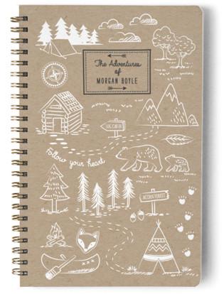 A Little Adventure Day Planner, Notebook, or Address Book