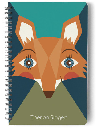 Geo Fox Is Your Friend Day Planner, Notebook, or Address Book