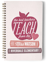 Teach From The Heart Notebooks