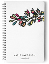 Color Flower Stem Notebooks