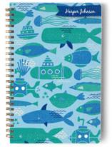 Sea Life Blue Notebooks