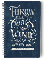 Throw Caution To The Wind Notebooks