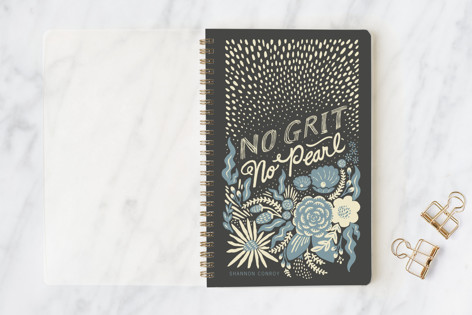 No Grit, No Pearl Notebooks
