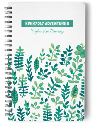 Everyday Adventures Day Planner, Notebook, or Address Book