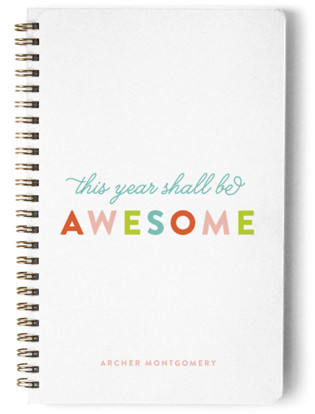 This Year Shall Be Awesome Day Planner, Notebook, or Address Book