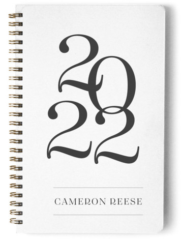 Bold Year Day Planner, Notebook, Or Address Book