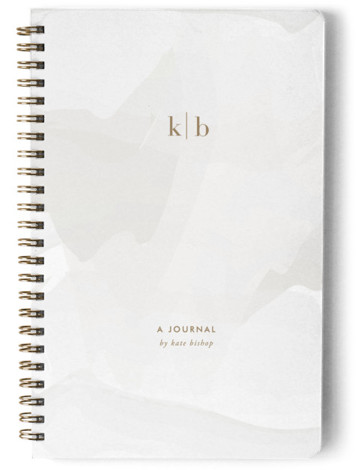 Initials Day Planner, Notebook, Or Address Book