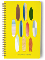 Surfboard Pose Notebooks