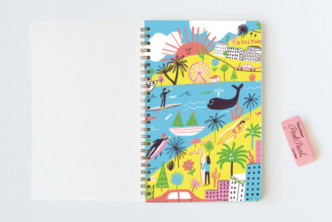 Los Angeles City Scape Notebooks