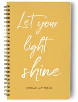 Let your light shine Notebooks