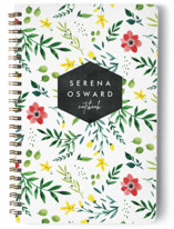Happy Floral Notebooks