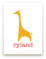 Patterned Giraffe by Ampersand Design Studio