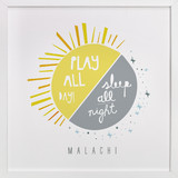 Play All Day, Sleep All Night