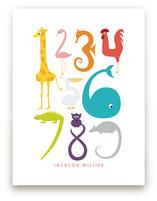 Numbered Animals