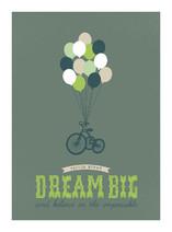 Dream Big and Believe Nursery Custom Art Print