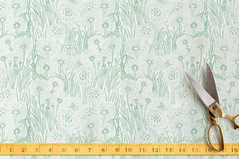 Dandelion Field Fabric