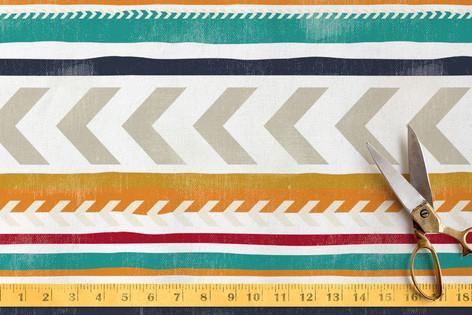 Beach Blanket Stripe Fabric